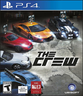 The Crew Ps4 New Playstation 4  Playstation 4