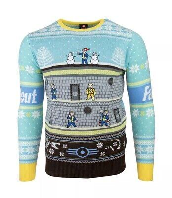 XL Fallout Vault-Tec Ugly Christmas Xmas Jumper / Sweater by Numskull / Bethesda