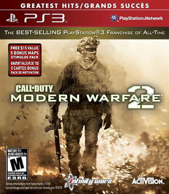 Activision Call Of Duty: Modern Warfare 2 Gh Ps3 Playstat...