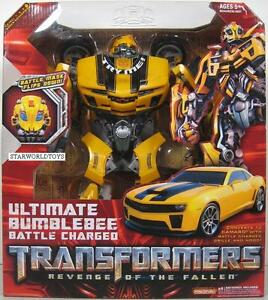 Transformers Revenge Of The Fallen Ult Bumblebee MINT sealed box