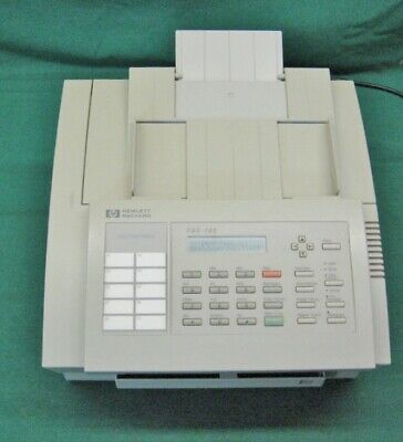Vintage Hp Fax -700 Fax Machine Working Great Needs Ink