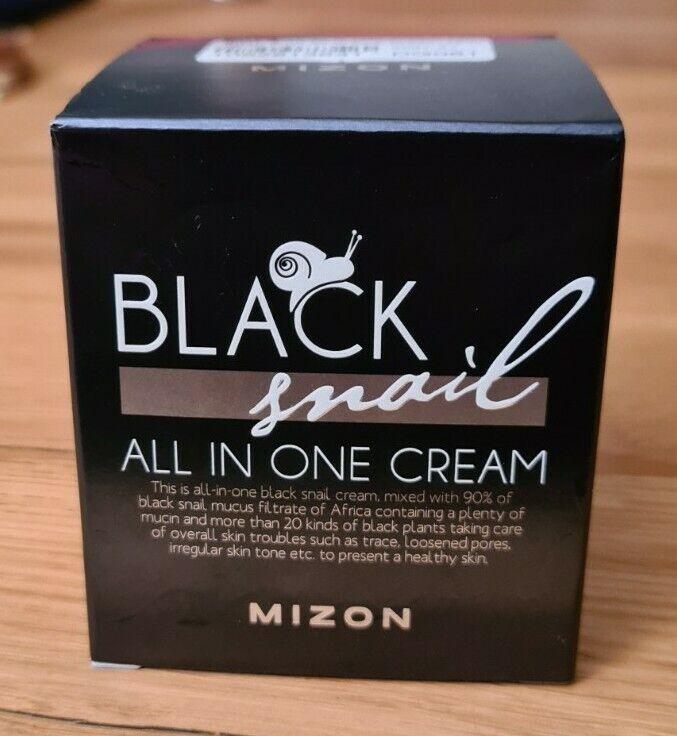 MIZON BLACK SNAIL ALL IN ONE 75ml Gesichtscreme mit 90 Schneckenschleim