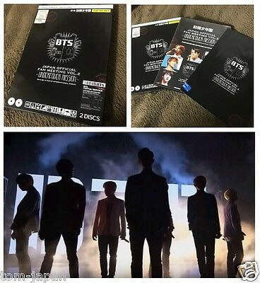 RARE  BTS Bangtan Boys Undercover Mission Vol.2 Japan Official Fan meeting DVD
