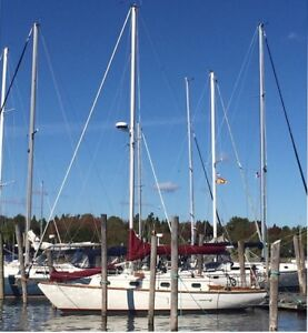 Cape Dory 30' Cutter - Project Boat
