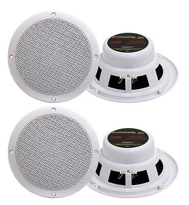 "4) NEW PYRAMID MDC7 6.5"" 480W Marine/Boat Speakers on Rummage"