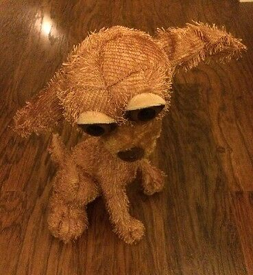 """Carlton Cards Twisted Whiskers Brown Dog Plush 16"""""""