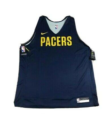 Nike Men's NBA  AJ4733-419 Indiana Pacers Reversible Practice Jersey Sz4XLT NWT