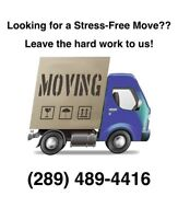 The Best Moving Service At The Best Price! (289) 489-4416