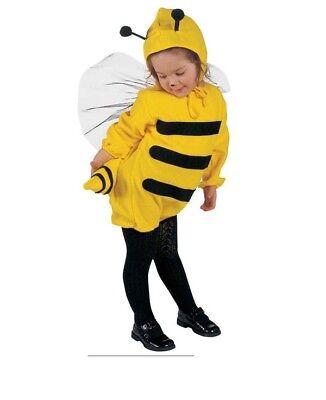 Kostüm Biene Gr. 110 (Kostüm, Kopfbedeckung)  ()