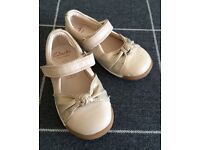 Brand New Girls Clark Leather Shoes