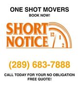 Professional Movers. Great Rates & Short Notice Ok!