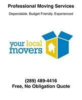 The Best Movers At The Best Prices! (289) 489-4416