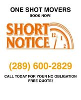 Experience What Professional Movers Can Do For You! 289-600-2829