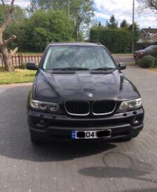 BMW X5 Se 2004 3L petrol 120.000 miles