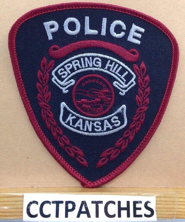 SPRING HILL, KANSAS POLICE SHOULDER PATCH KS