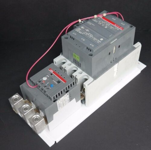 NEW ABB A210S-84E3 STARTER W/ A210-30 CONTACTOR AND E320DU-320 OVERLOAD RELAY