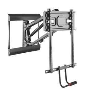 BNIB pull down above fireplace TV mount