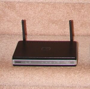 D-Link Wireless Router, Storage Adapter, 5 Port Ethernet Switch
