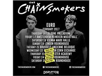 Tickets for SOLD OUT Chainsmokers Roundhouse show (Friday)