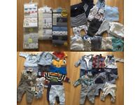 Baby boy bundle 0-3