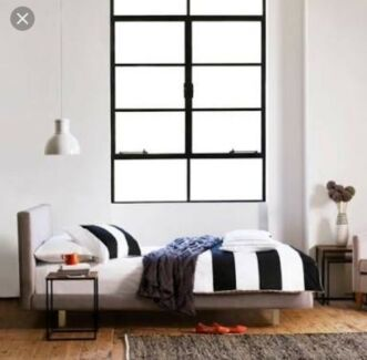 As new Freedom Helsinki Queen Bed Frame