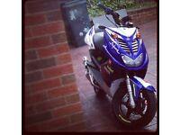 Yamaha aerox 50/70cc tuned