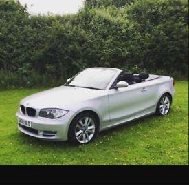 BMW 1 series convertible 2.0 petrol 75k miles