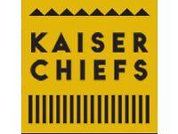 2 Kaiser chief standing tickets