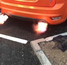 Ford Focus st 3 electric orange 300bhp