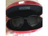 Moshino Designer Women's Black Sunglasses
