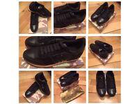VaIentlno Rockrunner Unisex Black Men Women Trainers Sneakers Shoes Footwear New with Box & Dustbag