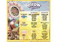 Three VIP tickets Elrow town sat 18 August