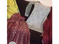 Asian clothes lengha designer Faika karim