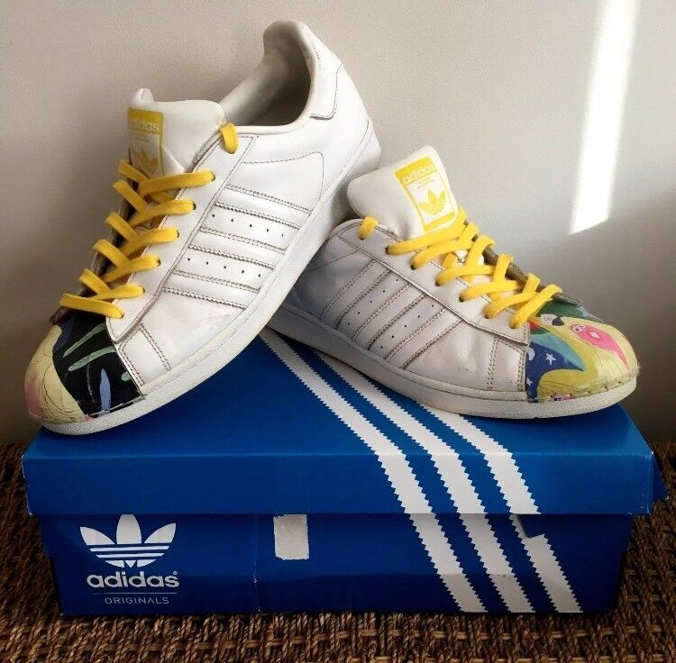 8d4e6775c Adidas Superstars Pharrell Williams Todd James UK Size 10
