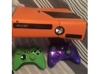 Xbox 360 Slim - Customised - 250GB with Black Ops 1 and FIFA 14