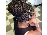 £30 Long Jumbo box braids ONLY! weave/closure/frontal/faux locs/twists/crochet/feed in cornrows