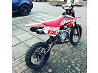 160cc welsh stomp pitbike