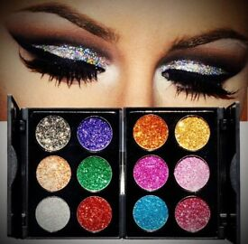 Diamond Golden Color Powder Shine Palette Shadows Shiny Eye Shadow Palette Makeup Face Cosmetics
