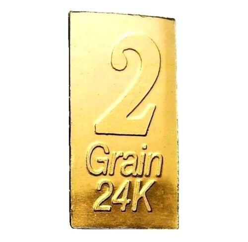 1/8 Gram .9999 Fine 24k Gold Bullion Bar - In Assay Card