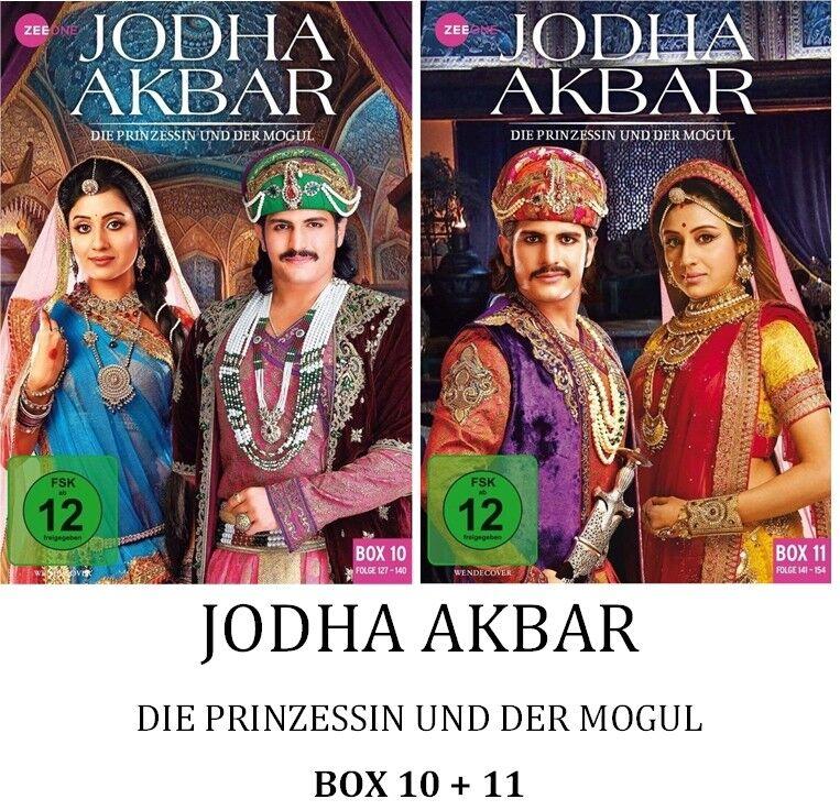 Jodha Akbar - Die Prinzessin und der Mogul - Box 10 + 11, 2x3 DVD NEU + OVP!