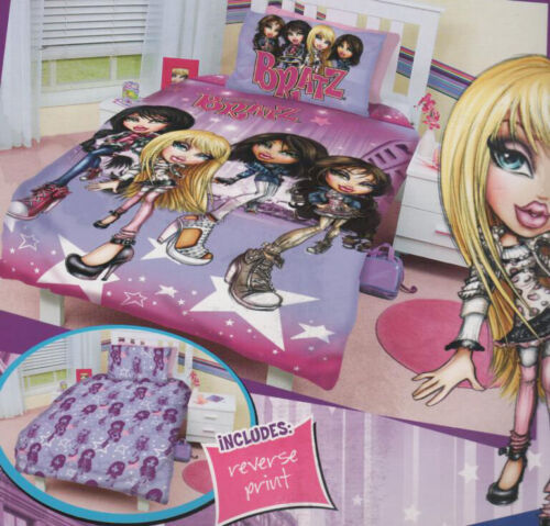 Licensed Bratz Movie Starz Pink Double Size Quilt Doona Cover Set