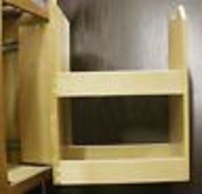 """Kitchen Pull Out/ Swing 18"""" Base Spice Rack 4 Any Brand Kitchen  Cabinet"""