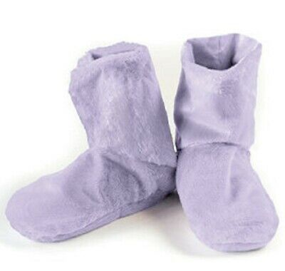 Lavender Herbal Booties Microwave or Freeze Natural Aromatherapy Comfort Booties