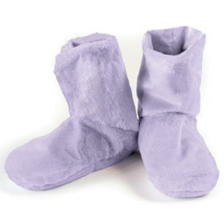 Lavender Herbal Booties Microwave or Freeze Natural Aromatherapy Comfort Booties Health & Beauty
