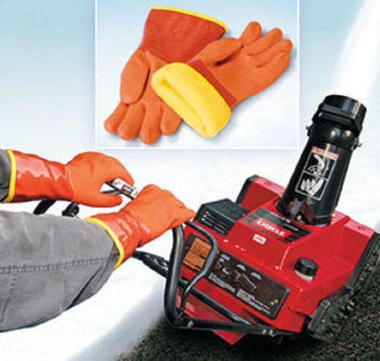 Snow Blower Gloves Shoveling Plowing Snow-blowing Warm Gloves Rugged Dry New Apparel, Protective Gear & Merchandise