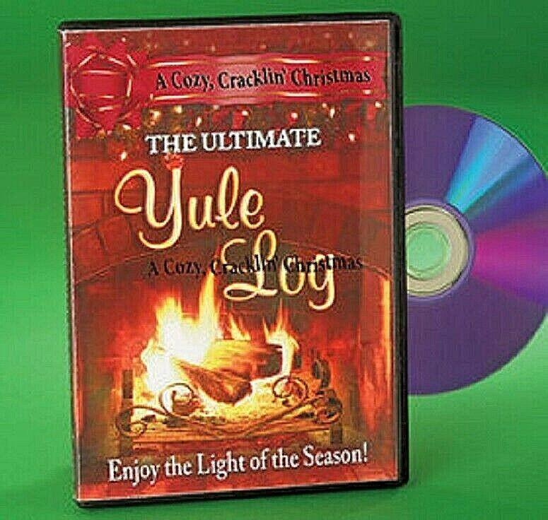 Crackling Fireplace DVD: The Ultimate Yule Log A cozy, Cracklin Christmas NIB DVDs & Blu-ray Discs