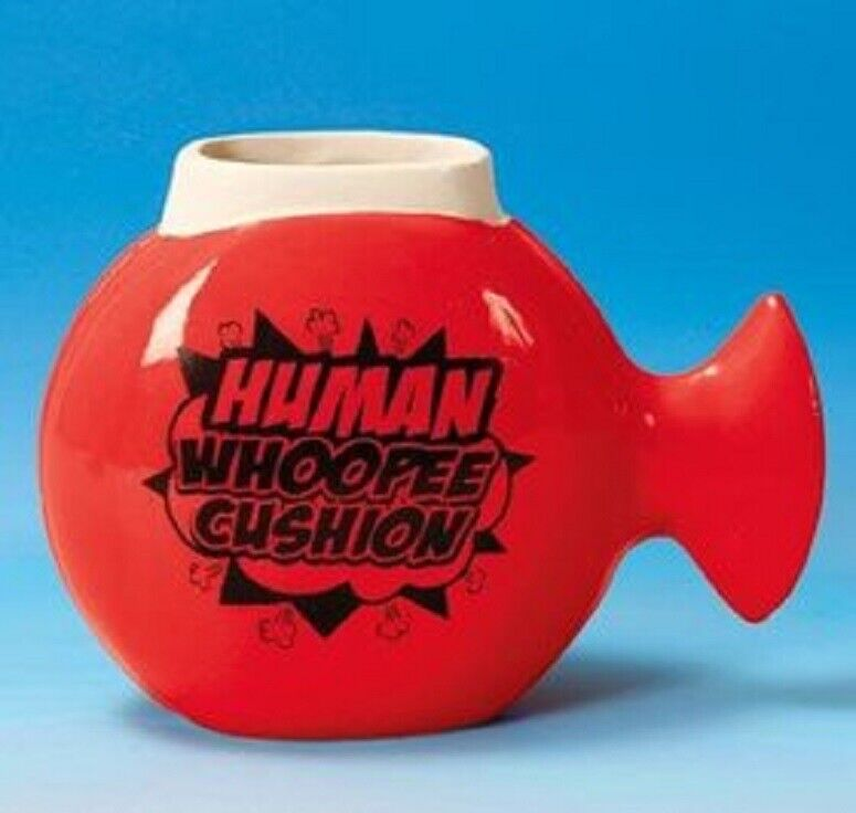 Whoopee Cushion Mug Coffee, Tea Novelty Mug. Gag Gift. Farting Sounds Brand NEW Collectibles