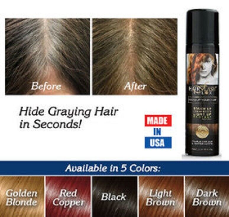 Hair Flash Color Natural Formula Temporary Hair Dye Instant Hair Color MADE USA Hair Care & Styling