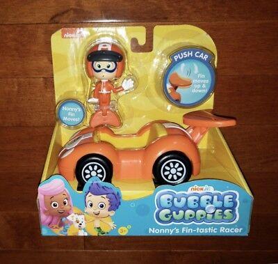 Nick Jr. Bubble Guppies Nonny's Fin-tastic Racer Push Car Toy New ()