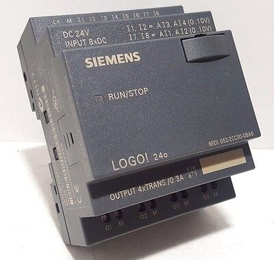Newsiemens 6ed1052-2cc00-0ba6 Logo 24o 8di4ai4do 200 Blocksno Box